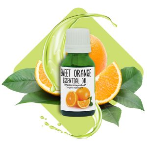 Sweet orange <br>essential oil