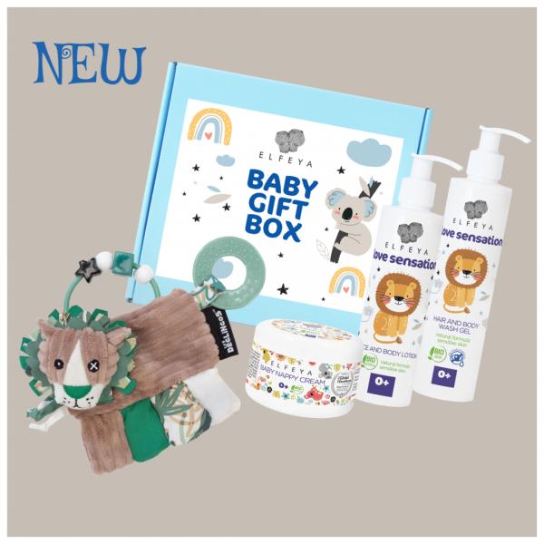 Baby Box Activity rattle Jelekros the lion